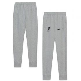 Liverpool Fleece Joggers - Dark Grey - Kids