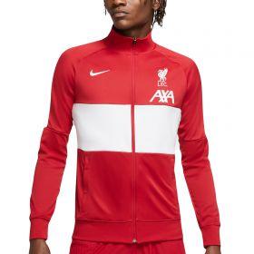 Liverpool I96 Anthem Track Jacket - Red