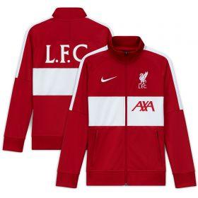 Liverpool I96 Anthem Track Jacket - Red - Kids