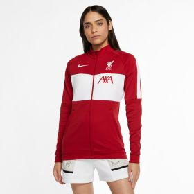 Liverpool I96 Anthem Track Jacket - Red - Womens