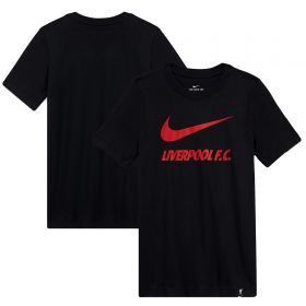 Liverpool T-Shirt - Black - Boys
