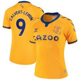 Everton Away Shirt 2020-21 - Womens with Calvert-Lewin 9 printing