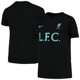 Liverpool Core Match T-Shirt - Black - Boys