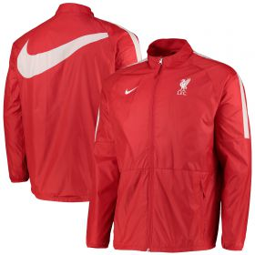 Liverpool Zip Through Jacket - Red