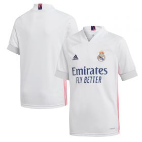 Real Madrid Home Shirt 2020-21 - Kids