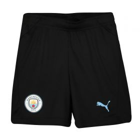 Manchester City Training Shorts - Black - Kids