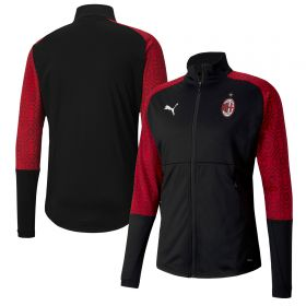 AC Milan Stadium Jacket - Black