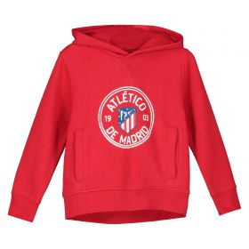 Atlético de Madrid Printed Hoodie - Red - Boys