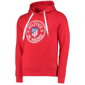 Atlético de Madrid Printed Hoodie - Red - Mens