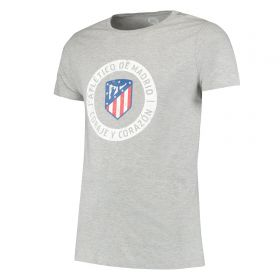 Atlético de Madrid Printed T-Shirt - Grey - Mens