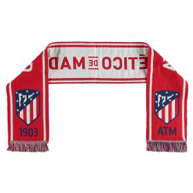 Atlético de Madrid Scarf - Red/White