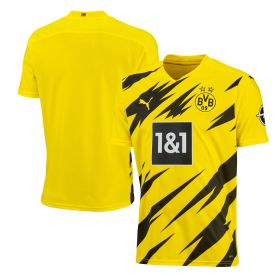 Borussia Dortmund Authentic Home Shirt 2020-21