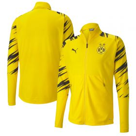Borussia Dortmund Stadium Jacket - Yellow (Home)