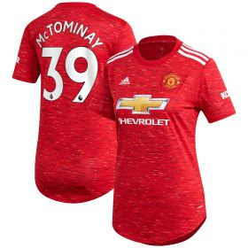 Manchester United Home Shirt 2020-21 - Womens with McTominay 39 printing