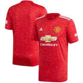 Manchester United Home Shirt 2020-21 with Wan-Bissaka 29 printing