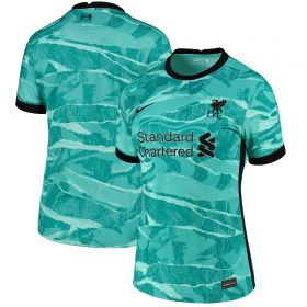 Liverpool Away Stadium Shirt 2020-21- Womens with Minamino 18 printing