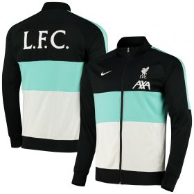 Liverpool I96 Anthem Track Jacket - Black