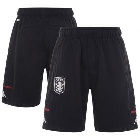 Aston Villa Player Travel Shorts - Black - Kids