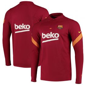 Barcelona Vapor Knit Strike Drill Top - Red