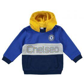 Chelsea Colour Block Hoodie - Blue - Baby