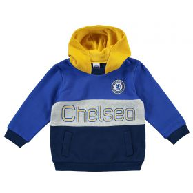 Chelsea Colour Block Hoodie - Blue - Infant