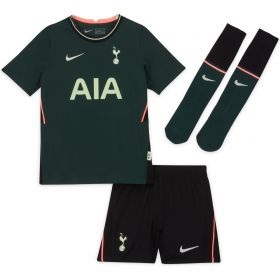 Tottenham Hotspur Away Stadium Kit 2020-21 - Little Kids with Dele 20 printing