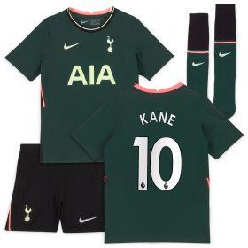 Tottenham Hotspur Away Stadium Kit 2020-21 - Little Kids with Kane 10 printing