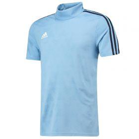 adidas Tango Jacquard Training Jersey - Blue