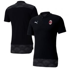 AC Milan Casuals Polo - Black