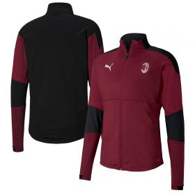 AC Milan Training Jacket - Burgundy