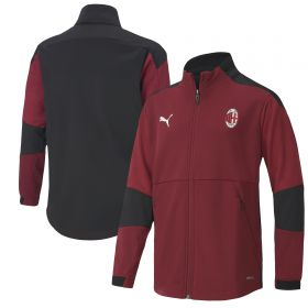 AC Milan Training Jacket - Burgundy - Kids