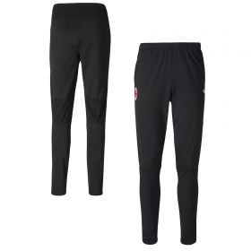 AC Milan Training Pants - Black - zip pockets