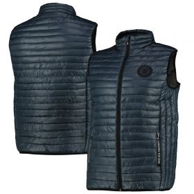 Chelsea Lightweight Quilted Gilet - Ombre Blue - Mens