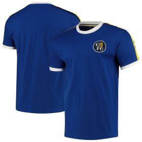 Chelsea Ringer T-Shirt - Blue - Mens