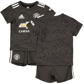 Manchester United Away Baby Kit 2020-21