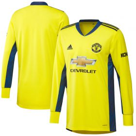 Manchester United Away Goalkeeper Shirt 2020-21 - Kids