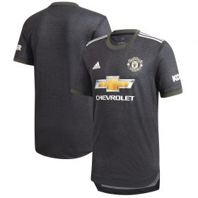 Manchester United Authentic Away Shirt 2020-21