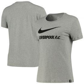 Liverpool T-Shirt - Dark Grey - Womens
