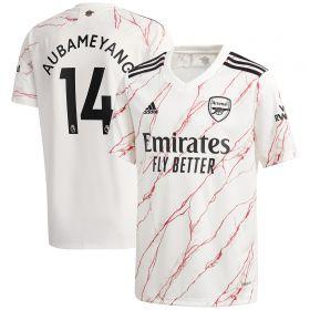 Arsenal Away Shirt 2020-21 - Kids with Aubameyang 14 printing