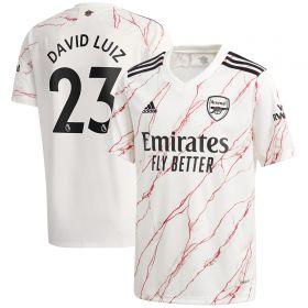 Arsenal Away Shirt 2020-21 - Kids with David Luiz 23 printing
