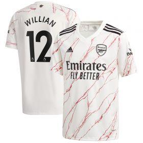 Arsenal Away Shirt 2020-21 - Kids with Willian 12 printing