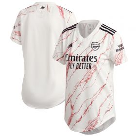 Arsenal Away Shirt 2020-21 - Womens with Aubameyang 14 printing