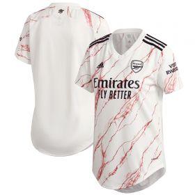 Arsenal Away Shirt 2020-21 - Womens with David Luiz 23 printing