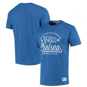 Chelsea London Is Blue T-Shirt - Blue Marl - Mens
