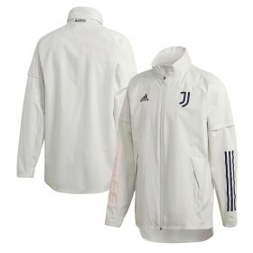 Juventus Training All Weather Jacket - Grey