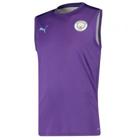 Manchester City Sleeveless Training Jersey - Purple