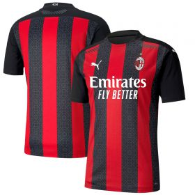 AC Milan Authentic Home Shirt 2020-21
