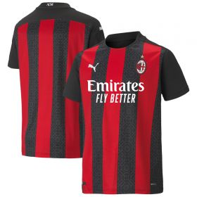 AC Milan Home Shirt 2020-21 - Kids