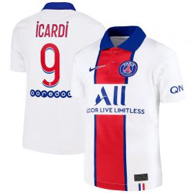 Paris Saint-Germain Away Stadium Shirt 2020-21 - Kids with Icardi 18 printing