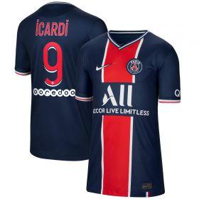 Paris Saint-Germain Home Stadium Shirt 2020-21 - Kids with Icardi 18 printing